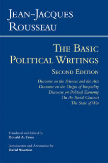 Rousseau: The Basic Political Writings av Jean-Jacques Rousseau (Innbundet)