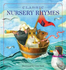 Classic Nursery Rhymes Oversized Padded Board Book av Gina Baek (Kartonert)