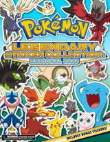 Omslag - Pokemon Legendary Sticker Collection: Regional Pass
