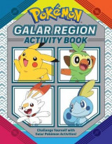 Omslag - Pokemon Official Galar Region Activity Book