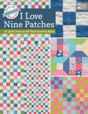 Block-Buster Quilts - I Love Nine Patches av Karen M Burns (Heftet)