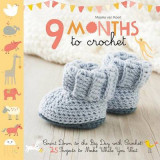 Omslag - 9 Months to Crochet