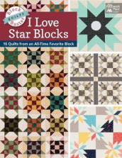 Block-Buster Quilts - I Love Star Blocks av Karen M Burns (Heftet)