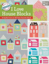 Block-Buster Quilts - I Love House Blocks av Karen M Burns (Heftet)