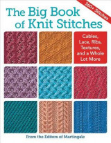 Omslag - The Big Book of Knit Stitches