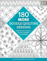 Omslag - 180 More Doodle Quilting Designs