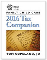 Omslag - Family Child Care 2016 Tax Companion