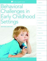 Omslag - Behavioral Challenges in Early Childhood Settings