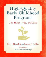 Omslag - High-Quality Early Childhood Programs