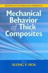 Omslag - Mechanical Behavior of Thick Composities