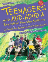 Omslag - Teenagers with Add, ADHD & Executive Function Deficits