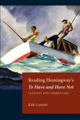 Omslag - Reading Hemingway's to Have and Have Not