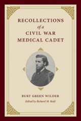 Omslag - Recollections of a Civil War Medical Cadet