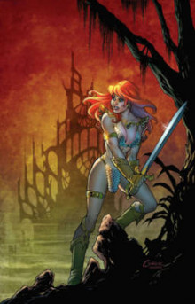 Red Sonja: The Black Tower: The Black Tower av Frank Tieri (Heftet)