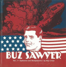 Buz Sawyer Vol.3 av Roy Crane (Innbundet)
