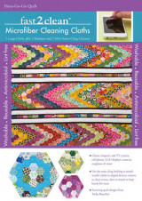 Omslag - Fast2clean Hexa-Go-Go Quilt Microfiber Cleaning Cloths