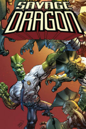 Savage Dragon: Dragon War av Erik Larsen (Heftet)