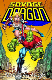 Savage Dragon: Kids Are Alright av Erik Larsen (Heftet)