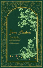 Four novels av Jane Austen (Innbundet)