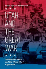 Omslag - Utah and the Great War