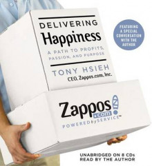Delivering Happiness av Tony Hsieh (Lydbok-CD)