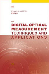 Omslag - Digital Optical Measurement Techniques and Applications