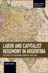 Omslag - Labor Conflict and Capitalist Hegemony in Argentina