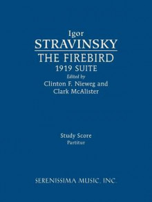 The Firebird, 1919 Suite av Igor Stravinsky (Heftet)
