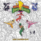 Omslag - Mighty Morphin Power Rangers Adult Coloring Book