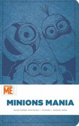 Omslag - Minions Mania Hardcover Ruled Journal
