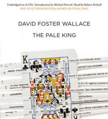 The Pale King av David Foster Wallace (Lydbok-CD)