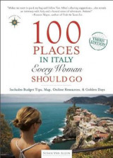 Omslag - 100 Places in Italy Every Woman Should Go