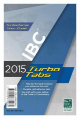 Omslag - 2015 International Building Code Turbo Tabs for Paperbound Edition