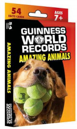 Omslag - Guinness World Records(r) Amazing Animals Learning Cards