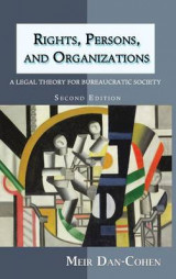 Omslag - Rights, Persons, and Organizations