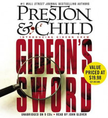 Gideon's Sword av Douglas Preston (Lydbok-CD)