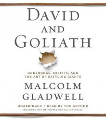 David and Goliath av Malcolm Gladwell (Lydbok-CD)