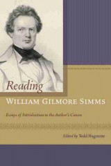 Omslag - Reading William Gilmore Simms