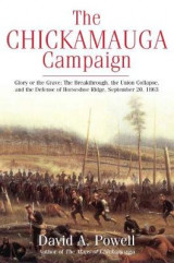 Omslag - The Chickamauga Campaign - Glory or the Grave