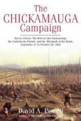 Omslag - The Chickamauga Campaign-Barren Victory