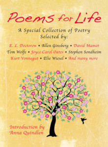Poems for Life av MR E L Doctorow, Allen Ginsberg, Professor David Mamet, Tom Wolfe og Professor of Humanities Joyce Carol Oates (Innbundet)