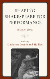 Omslag - Shaping Shakespeare for Performance