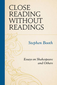 Close Reading without Readings av Stephen Booth (Heftet)
