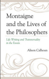 Omslag - Montaigne and the Lives of the Philosophers