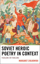 Omslag - Soviet Heroic Poetry in Context