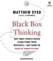 Black Box Thinking av Matthew Syed (Lydbok-CD)