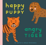 Omslag - Happy Puppy, Angry Tiger