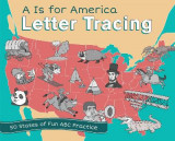 Omslag - A Is for America Letter Tracing