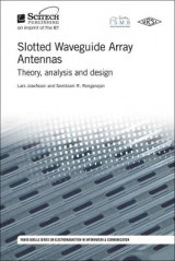 Omslag - Slotted Waveguide Array Antennas