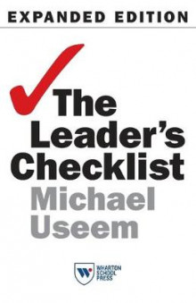 The Leader's Checklist, Expanded Edition av Michael Useem (Heftet)